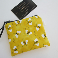 Bees  Coin Purse
