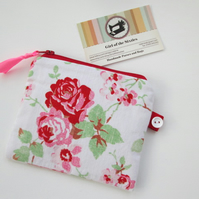 SALE Shabby Chic Coin Purse