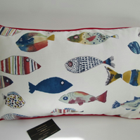 Colourful Fishes  Cushion