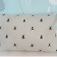 Sophie Allport Bees  Cushion with Cream Bobbles