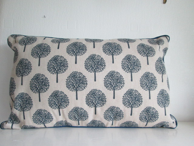 Beige  Trees Cushion