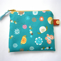 Half Price Sale Snails and Butterflies Purse