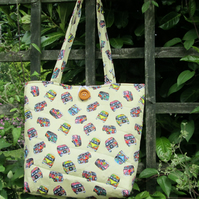 Pretty Campervans  Tote Bag