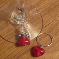 Angel Wine Glass Charms
