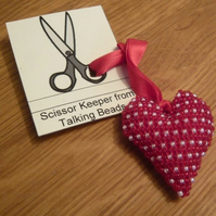 Beaded Scissor Keeper