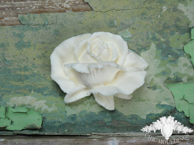 Shabby chic resin furniture mouldings applique folksy
