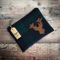 Stag Head Mini iPad Bag