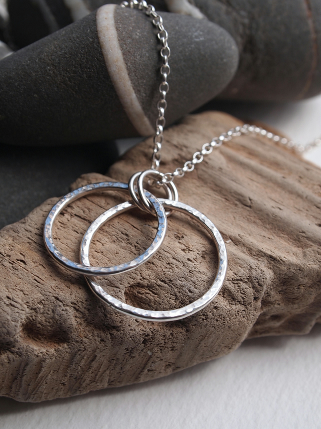 silver necklace, silver pendant, silver jewellery