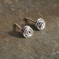 Silver Earrings, Stud Earrings