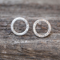 Studs, silver stud earrings, silver ring studs, ARC Jewellery
