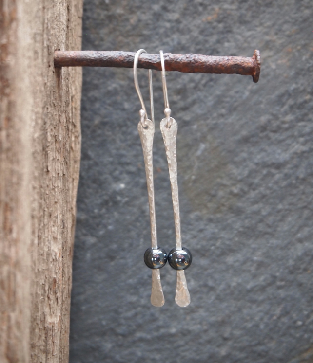Dangle Earrings, Silver Earrings