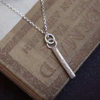 Necklace, Solid Silver Necklace