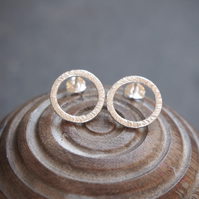 Hoop Stud Earrings