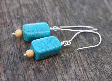 SALE! Turquoise earrings