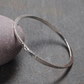 Sterling Silver Bangle, Hallmarked Bangle