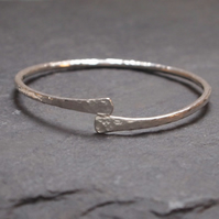 Sterling silver hallmarked bangle