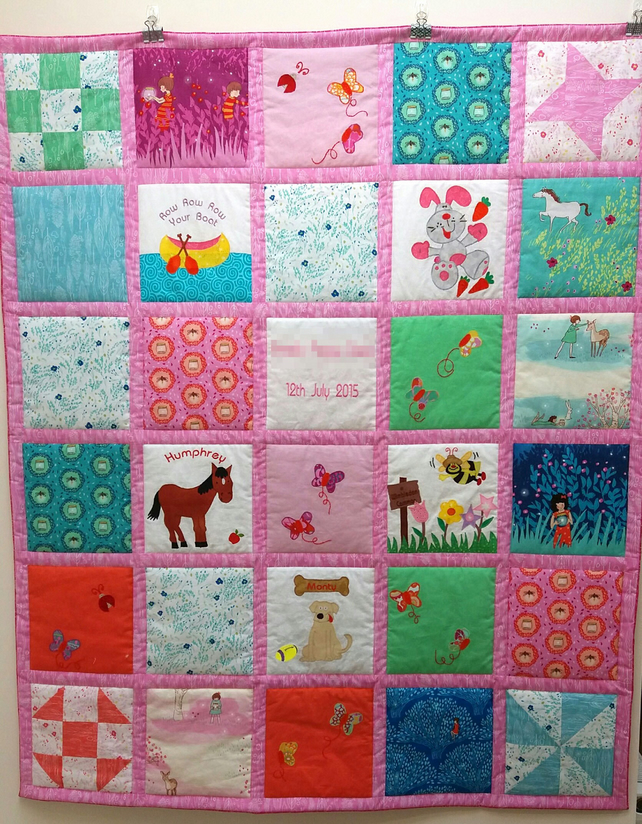 Custom Designed Made to Order Friendship Quilt