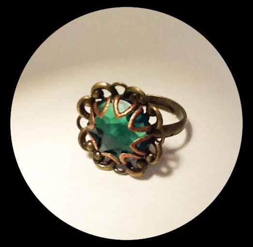 Vintage Inspired Adjustable Ring