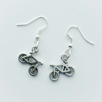 Ever So Cute Bicycle Earrings