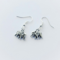Tiny Elephant Earrings