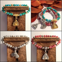Meditation Bracelets in 3 Colourways