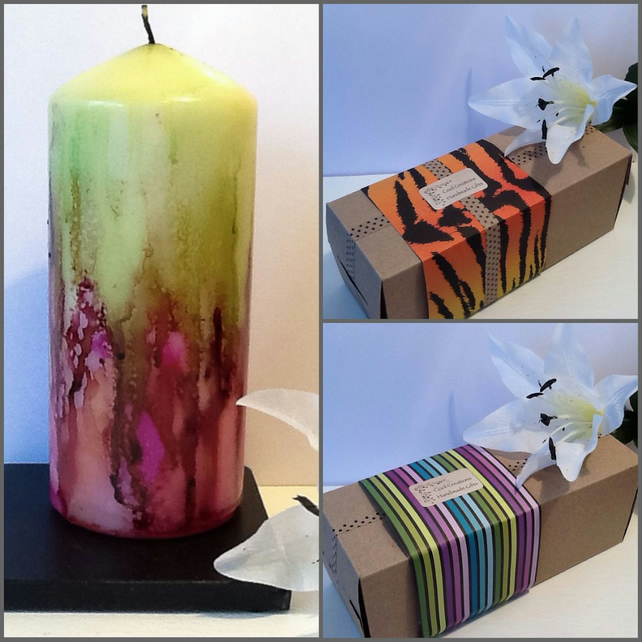 COOL Candle Gift Set Something Unique for Christmas Birthday Special Gift
