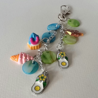 'Summer Days' Seaside Inspired Handbag Charm - SD1