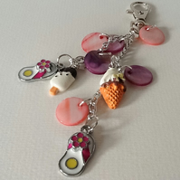 'Summer Days' Seaside Inspired Handbag Charm - SD2