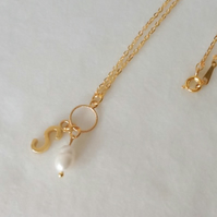 Freshwater Pearl Personalised Pendant Necklace