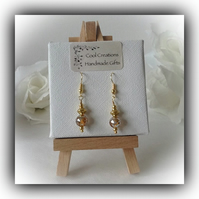 Silver & Gold Plated Earrings Gift Boxed by Cool Creations Christmas Mum Gift
