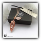 Rose Gold Pea Pod Necklace Gift Boxed Birthday Mother Girlfriend Valentine
