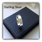 Sterling Silver Adjustable Minimalist Ring Gift Boxed Ladies Girlfriend