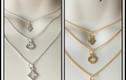 CHARM NECKLACES - simple little necklaces if you prefer an understated look