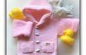 BABY KNITS - A lovely selection of handmade baby knits, ready to give