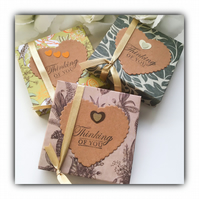 Scented Decorated Tea Lights THINKING OF YOU Gift Set