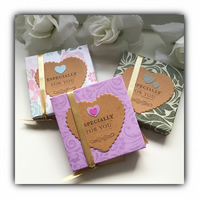 Scented Decorated Tea Lights ESPECIALLY FOR YOU Gift Set