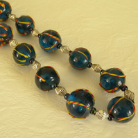 SALE - chunky bead necklace