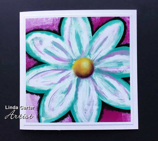 Big bright daisy card