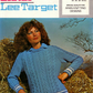 Vintage Hand Knitting pattern K1076: from Lister Lee, Aran Type Sweater