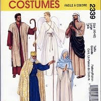 McCall's Costumes 2339: Adult Nativity, Medium,  Chest: 36-38""