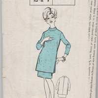 Vintage 'The People' 247 Sewing Pattern: Skirt & Tunic