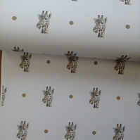 Giraffe, wrapping paper, gift wrap, for giraffe lovers