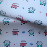 Campervan, wrapping paper, gift wrap, for campervan lovers