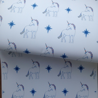 Unicorn ,wrapping paper, gift wrap, for unicorn lovers ,unicorns