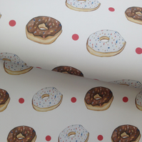 Doughnut, wrapping paper, gift wrap,for doughnut lovers,