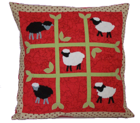 Nursery Sheep Cushion