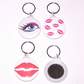 Makeup Mirror Keyring