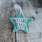 SALE Porcelain star. Worlds Best Dad