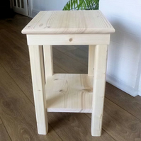 Bedside Table with Shelf