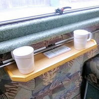 Caravan Motorhome Small Shelf
